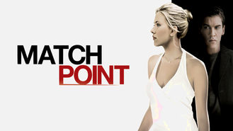 Netflix box art for Match Point