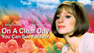 Netflix box art for On a Clear Day You Can See Forever