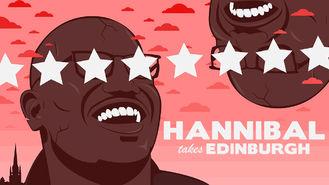 Netflix box art for Hannibal Takes Edinburgh