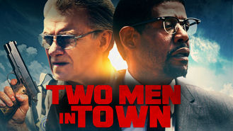 Netflix box art for Two Men in Town
