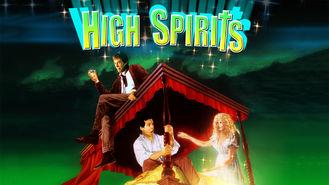 Netflix box art for High Spirits