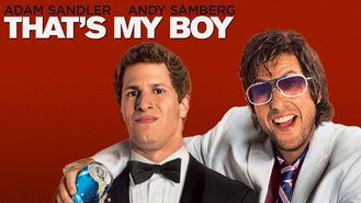 Netflix box art for That's My Boy